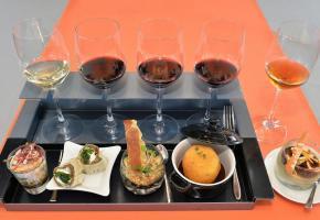 A chaque vin un mets original, pour le plaisir des papilles. VALDEMAR VERISSIMO